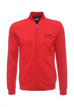 Олимпийка EA7. Цвет: красный