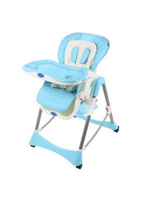Стульчик для кормления Sweet Baby Royal Classic Blu. Цвет: голубой
