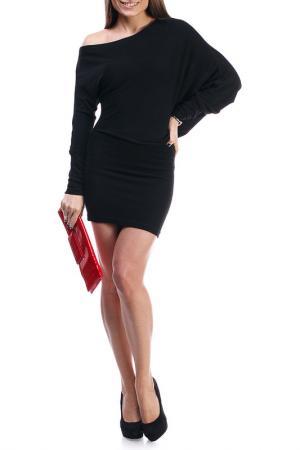 Платье Majaly. Цвет: черный