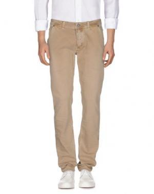Джинсовые брюки PORTOBELLO BY PEPE JEANS. Цвет: песочный