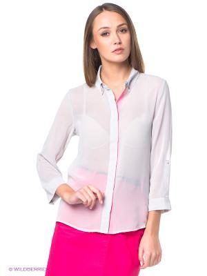Блузка ESPRIT. Цвет: светло-серый