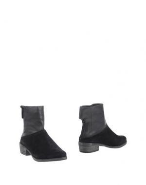Полусапоги и высокие ботинки ATELJÉ 71. Цвет: черный