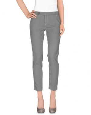 Повседневные брюки TRUE NYC.. Цвет: светло-серый