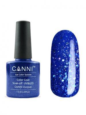 Гель лак №185 CANNI. Цвет: синий