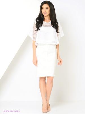 Блузка Glam Goddess. Цвет: белый