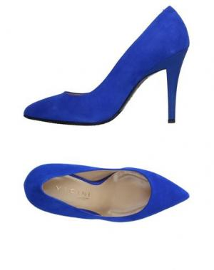 Туфли VICINI TAPEET. Цвет: темно-синий