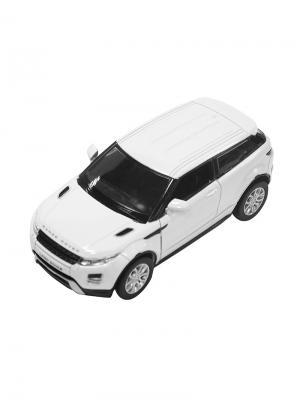 Машинка Инерционная Land Rover Range Evoque, Белая (1:32) (PS-554008-W) Pit Stop. Цвет: белый