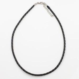 Шнурок для кулона из искусственной кожи, арт. ШН-016 Бусики-Колечки. Цвет: черный