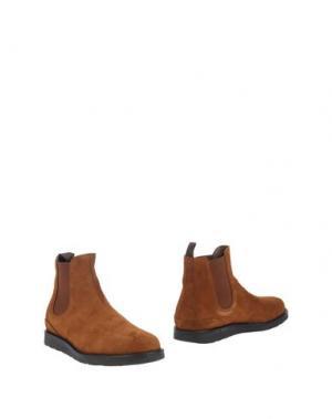 Полусапоги и высокие ботинки FABIANO RICCI. Цвет: верблюжий