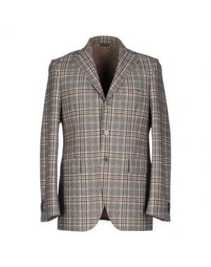 Пиджак SARTORE. Цвет: серый