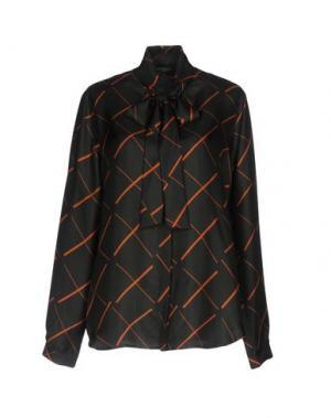 Pубашка ANTONELLI. Цвет: темно-зеленый