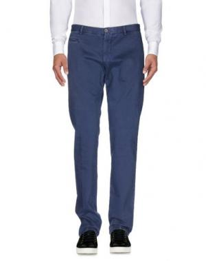 Повседневные брюки ALTEA dal 1973. Цвет: синий