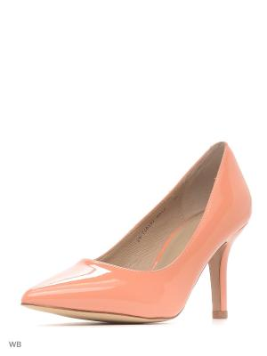 Туфли Mascotte. Цвет: оранжевый