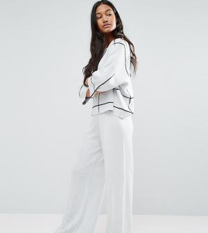 Micha Lounge Широкие трикотажные брюки. Цвет: мульти