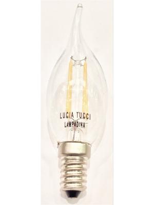 Лампа CANDELA NEL VENTO 206.4W LED Lucia Tucci. Цвет: прозрачный