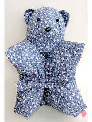 Декоративная подушка Mammi. Цвет: синий