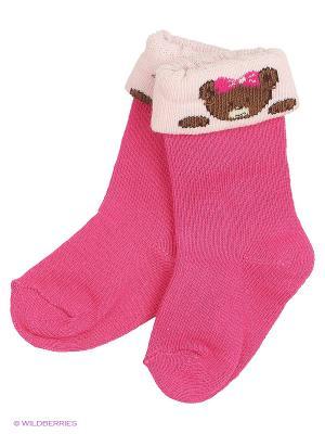 Носки DAG. Цвет: розовый