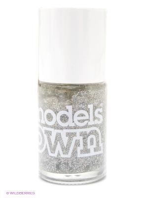Лак для ногтей 14 мл, Glitter, Juicy Jules Models Own. Цвет: серебристый
