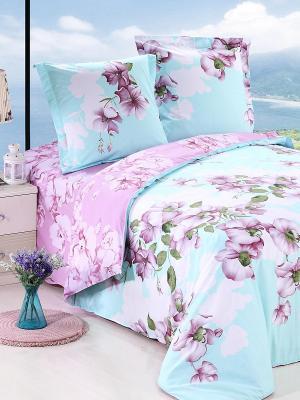 Постельное белье Amore Mio. Цвет: голубой, розовый