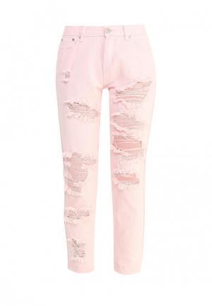 Джинсы Glamorous. Цвет: розовый