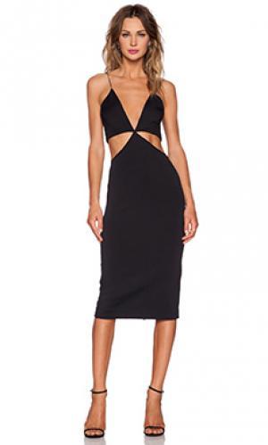 Платье equinox Maurie & Eve. Цвет: черный