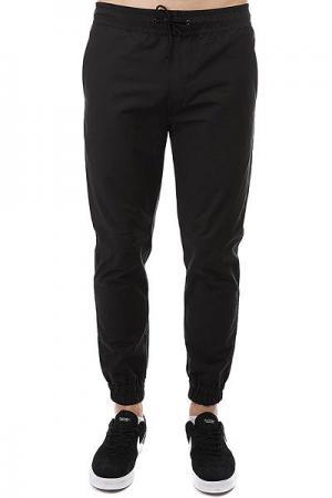 Штаны прямые  Simple Joggers Black Anteater. Цвет: черный