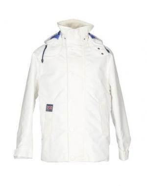 Куртка HENRI LLOYD. Цвет: белый