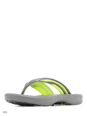 Тапочки DIADORA. Цвет: серый, зеленый