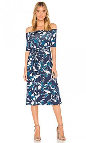Платье с открытыми плечами skip a beat Yumi Kim. Цвет: синий