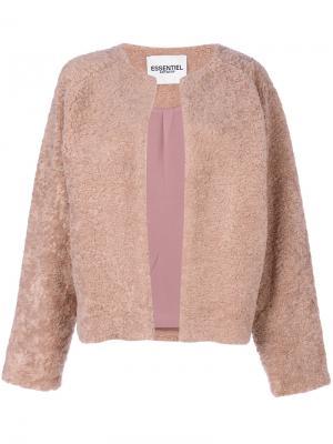 Однобортный пиджак Essentiel Antwerp. Цвет: розовый и фиолетовый