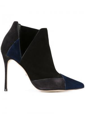 Ботинки на шпильке Sergio Rossi. Цвет: многоцветный