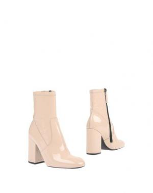 Полусапоги и высокие ботинки SPAZIOMODA. Цвет: слоновая кость