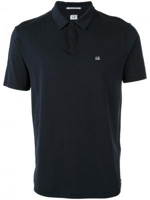Классическая футболка-поло CP Company. Цвет: синий