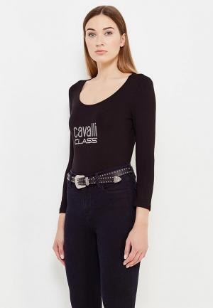 Лонгслив Cavalli Class. Цвет: черный