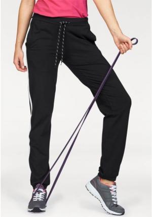 Спортивные брюки H.I.S.. Цвет: черный/белый
