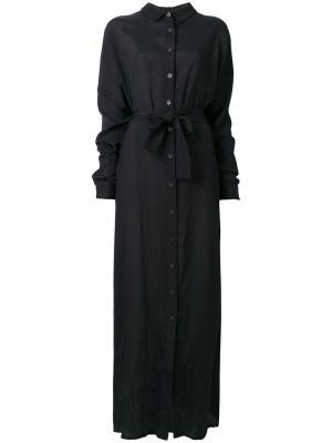 Платье Dusk Damir Doma. Цвет: чёрный