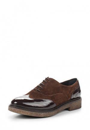 Ботинки Lamania. Цвет: коричневый