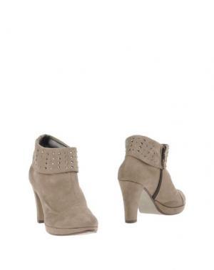 Полусапоги и высокие ботинки MAURO FEDELI. Цвет: серый