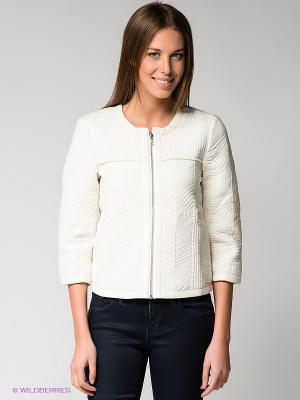 Куртка Calvin Klein. Цвет: молочный