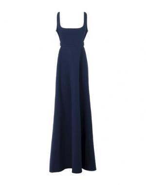 Длинное платье JILL STUART. Цвет: темно-синий