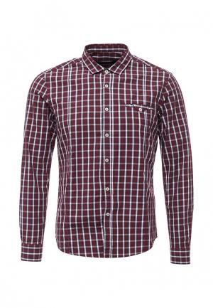 Рубашка Gianni Lupo. Цвет: бордовый