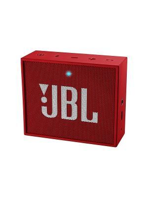 Портативная акустика  JBL Go. Цвет: красный