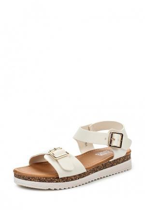Сандалии Max Shoes. Цвет: белый