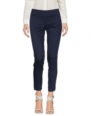 Повседневные брюки ANNARITA N.. Цвет: темно-синий