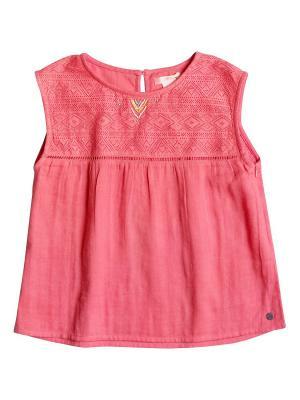 Блузка ROXY. Цвет: оранжевый