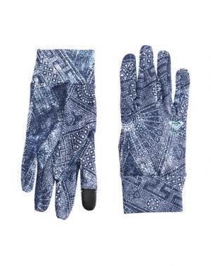 Перчатки ROXY. Цвет: темно-синий