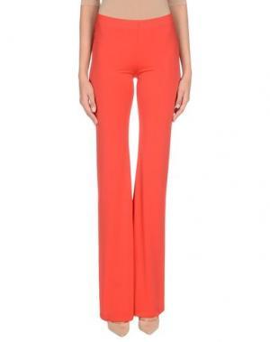 Повседневные брюки ALESSANDRO LEGORA. Цвет: красный