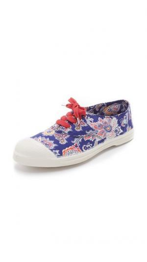 Теннисные кроссовки Liberty Bensimon. Цвет: орнамент «бандана»