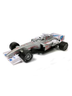 Гоночный автомобиль Азбука Тойс. Цвет: серый