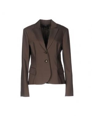 Пиджак CARLA MONTANARINI. Цвет: хаки